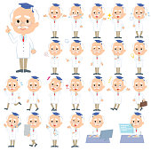 Research Doctor old men_1