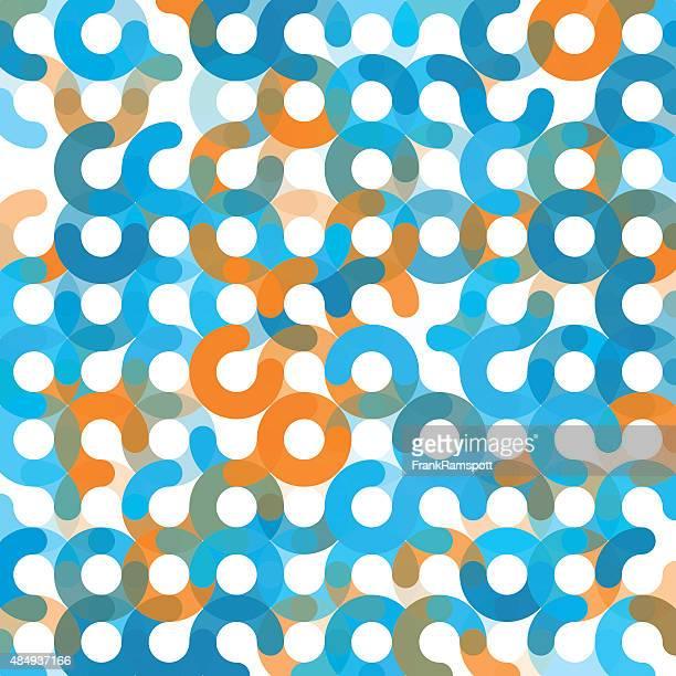 research geometrischen kreis muster square - frankramspott stock-grafiken, -clipart, -cartoons und -symbole