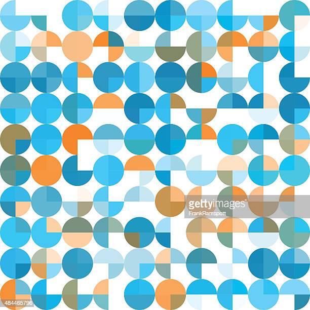 ilustraciones, imágenes clip art, dibujos animados e iconos de stock de investigación patrón geométrico circle pie cuadrado - frank ramspott
