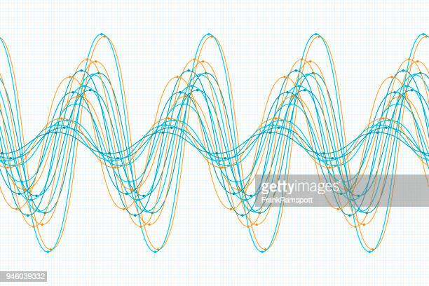 Sine curve vector art and graphics getty images research sine wave line pattern horizontal ccuart Choice Image