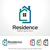 Residence Symbol Template Design Vector, Emblem, Design Concept, Creative Symbol, Icon