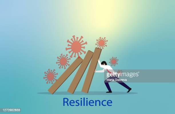 resilience concept. - disappointment stock illustrations