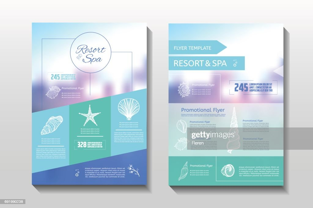 Resort and spa flyer