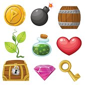 Resource icons for games.