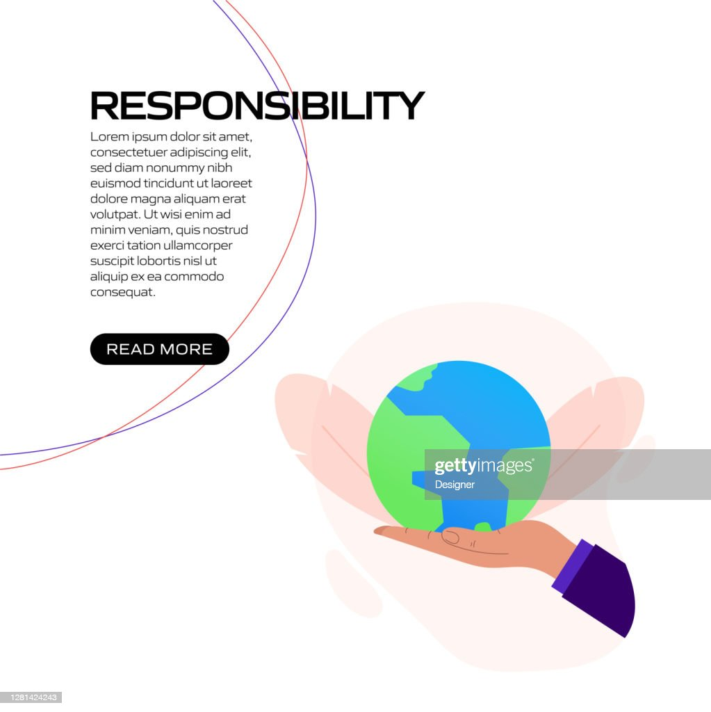 Responsibility Concept Vector Illustration For Website ...