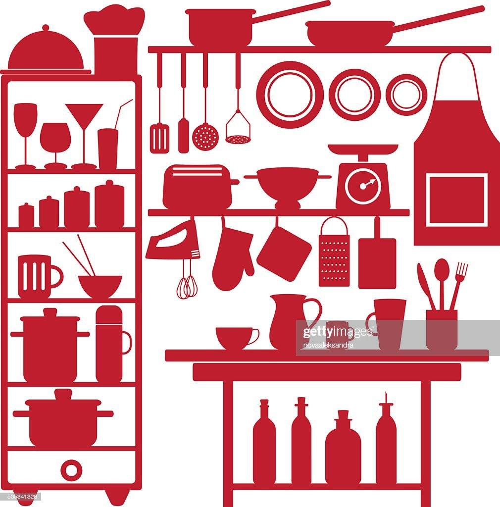 Restaurant and kitchen related symbols