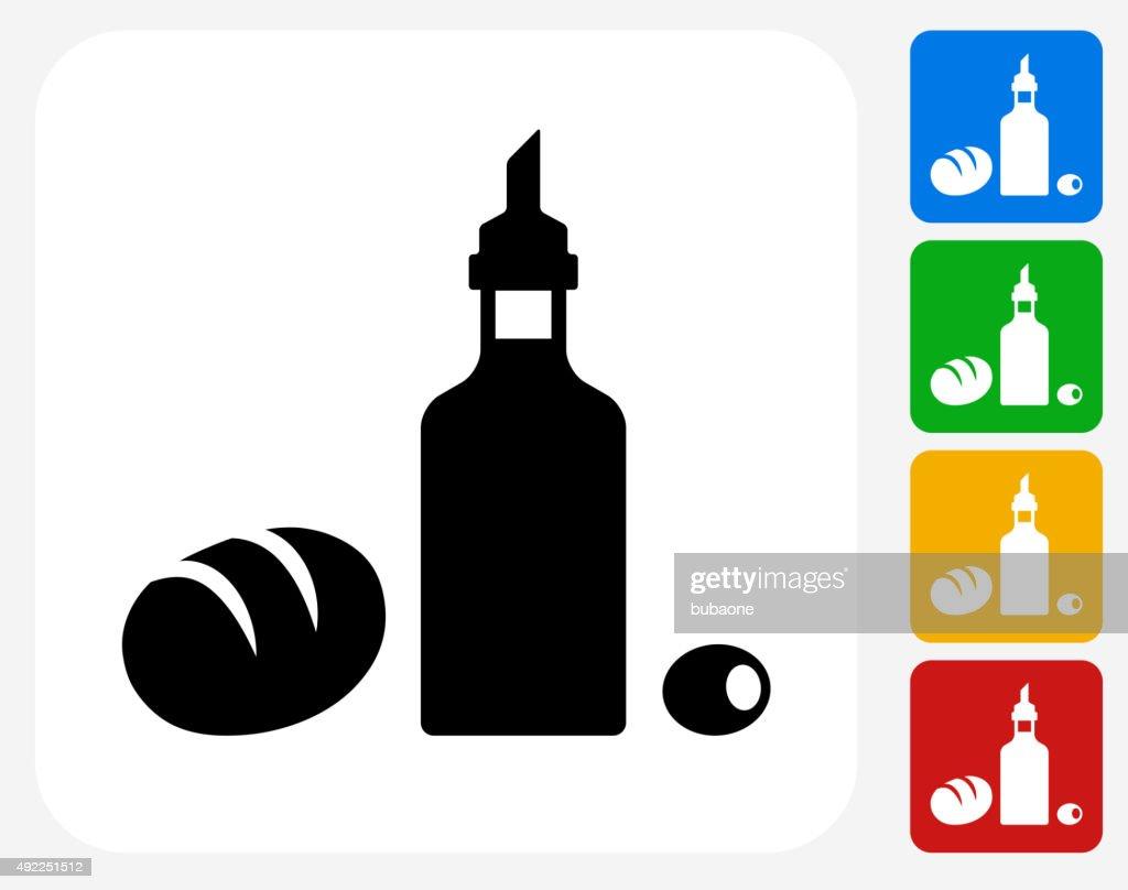 Restaurant Foods Icon Flat Graphic Design : stock illustration