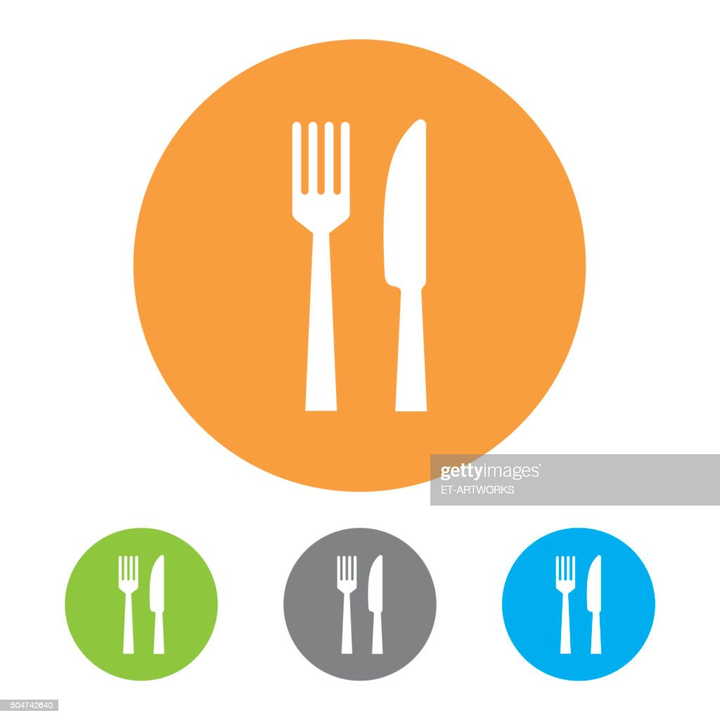 Restaurant Icons. Vector