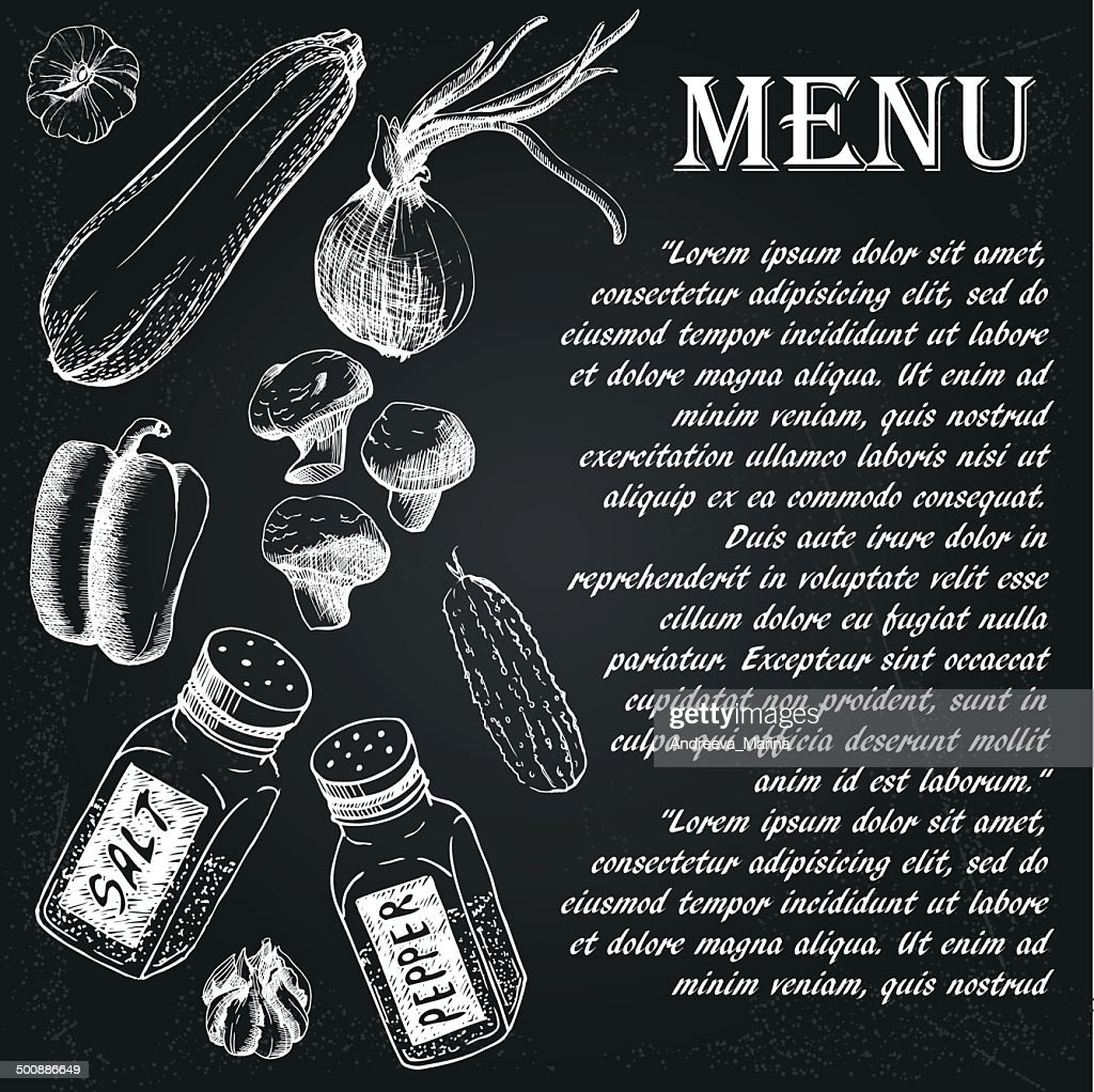 restaurant menu 4