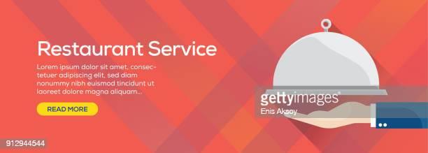 Restaurant Service Web Banner