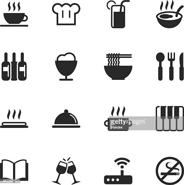 Restaurant Silhouette Icons | Set 2