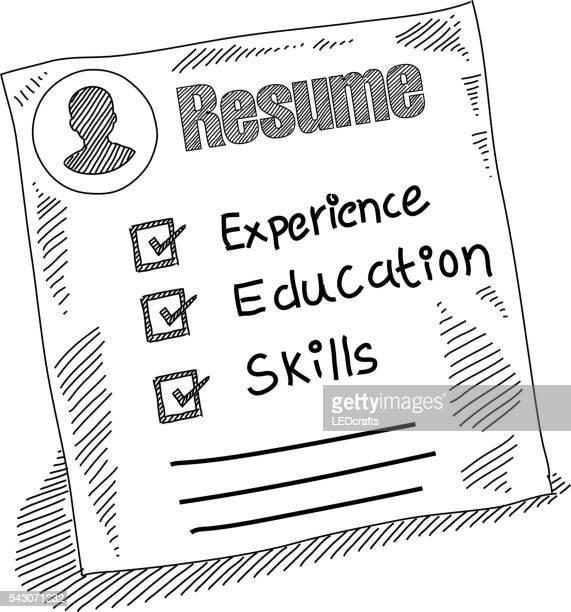 Resume Drawing