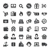 Retail and E-commerce Icons - Big Series