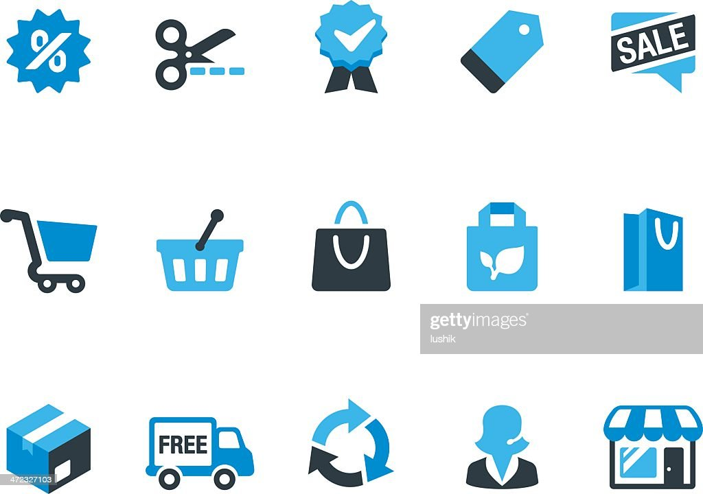 Retail and Shopping / Coolico icons