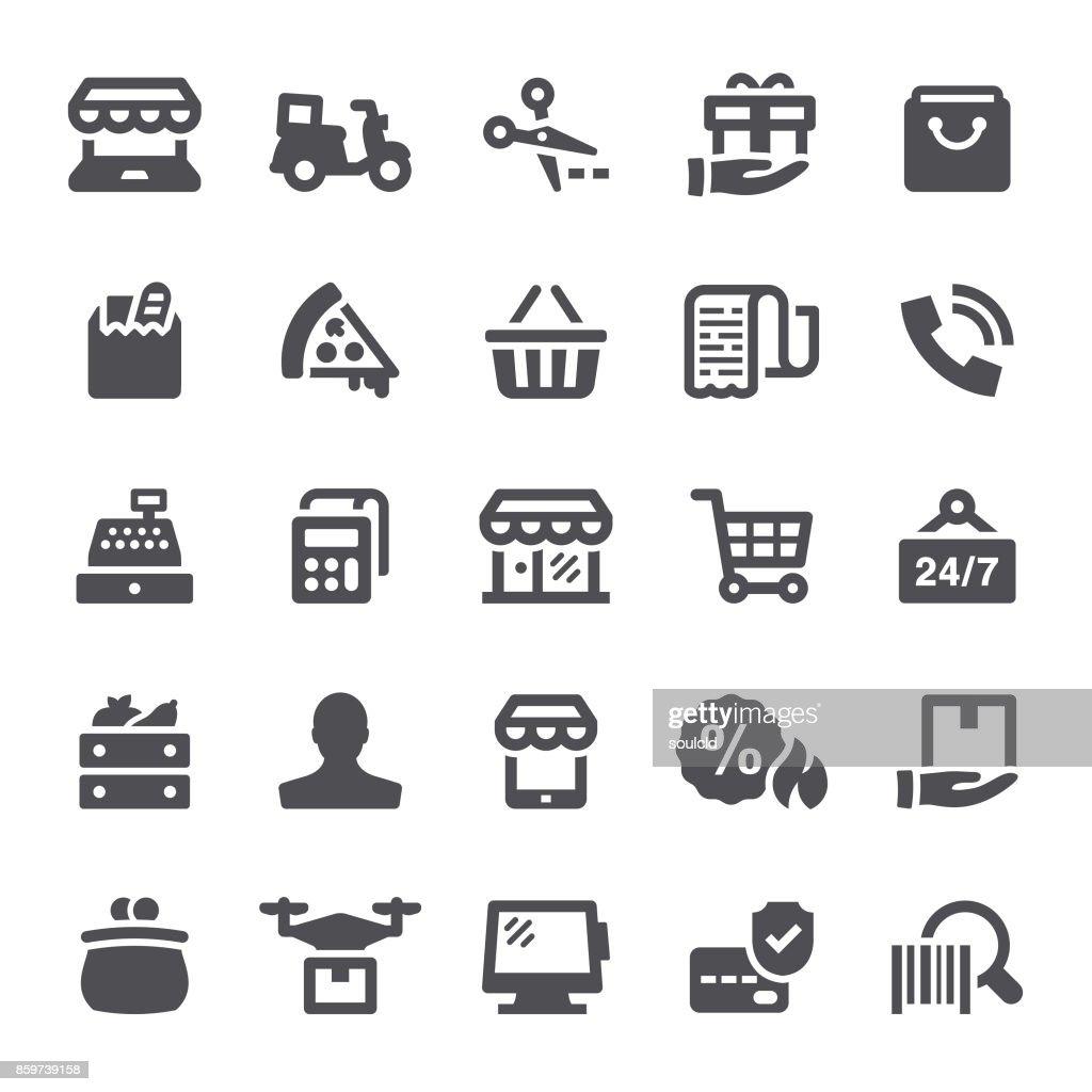 Retail Icons : stock illustration