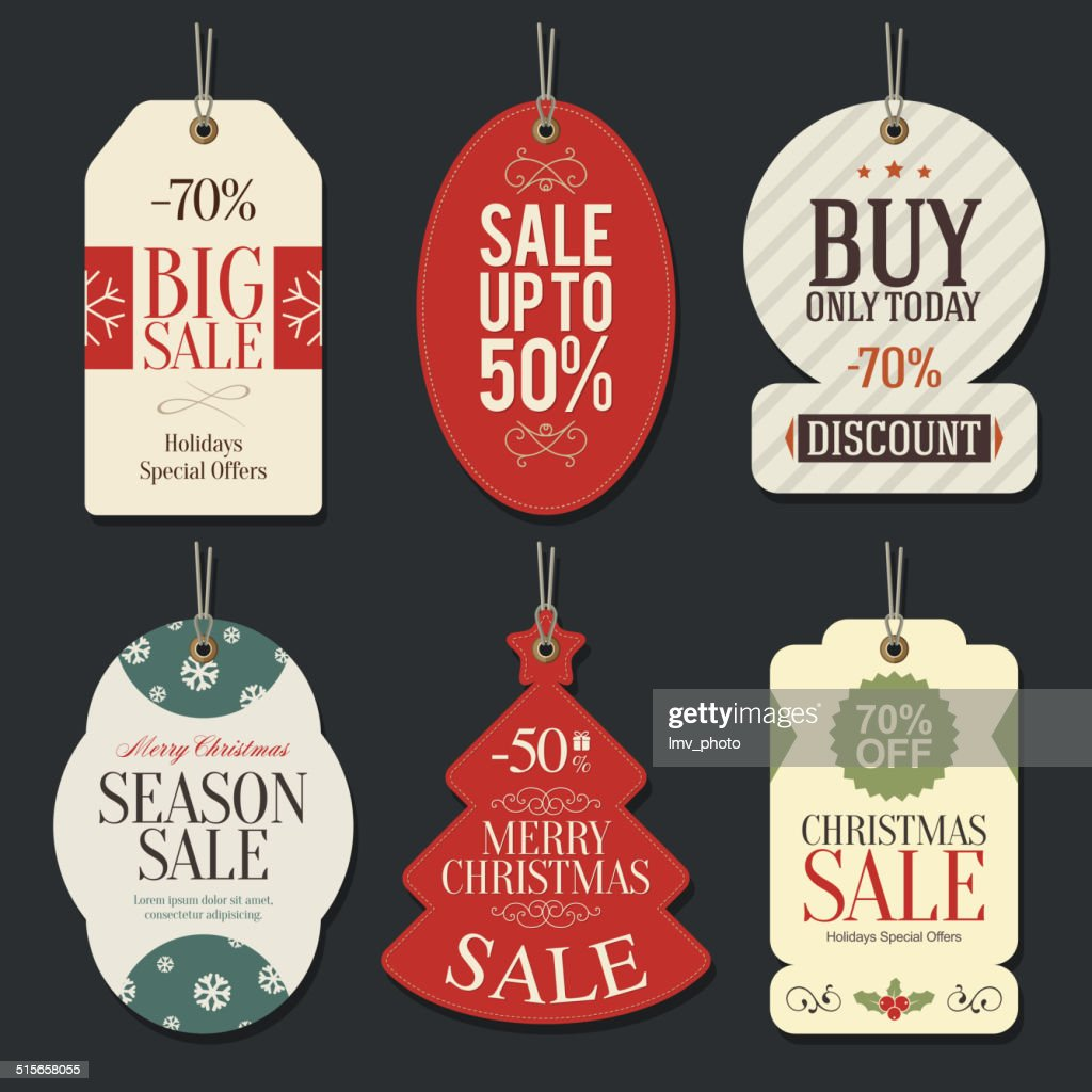 Retail Sale Tags and Clearance Tags