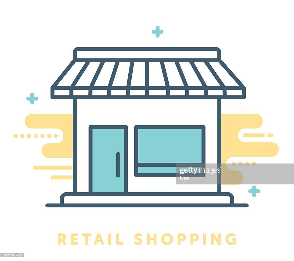 Retail Shop Symbol