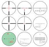 reticles - vector set