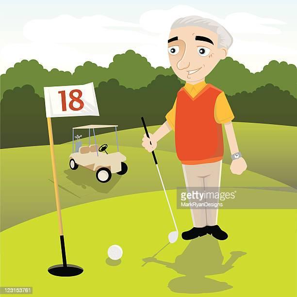 リタイアメントゴルフ