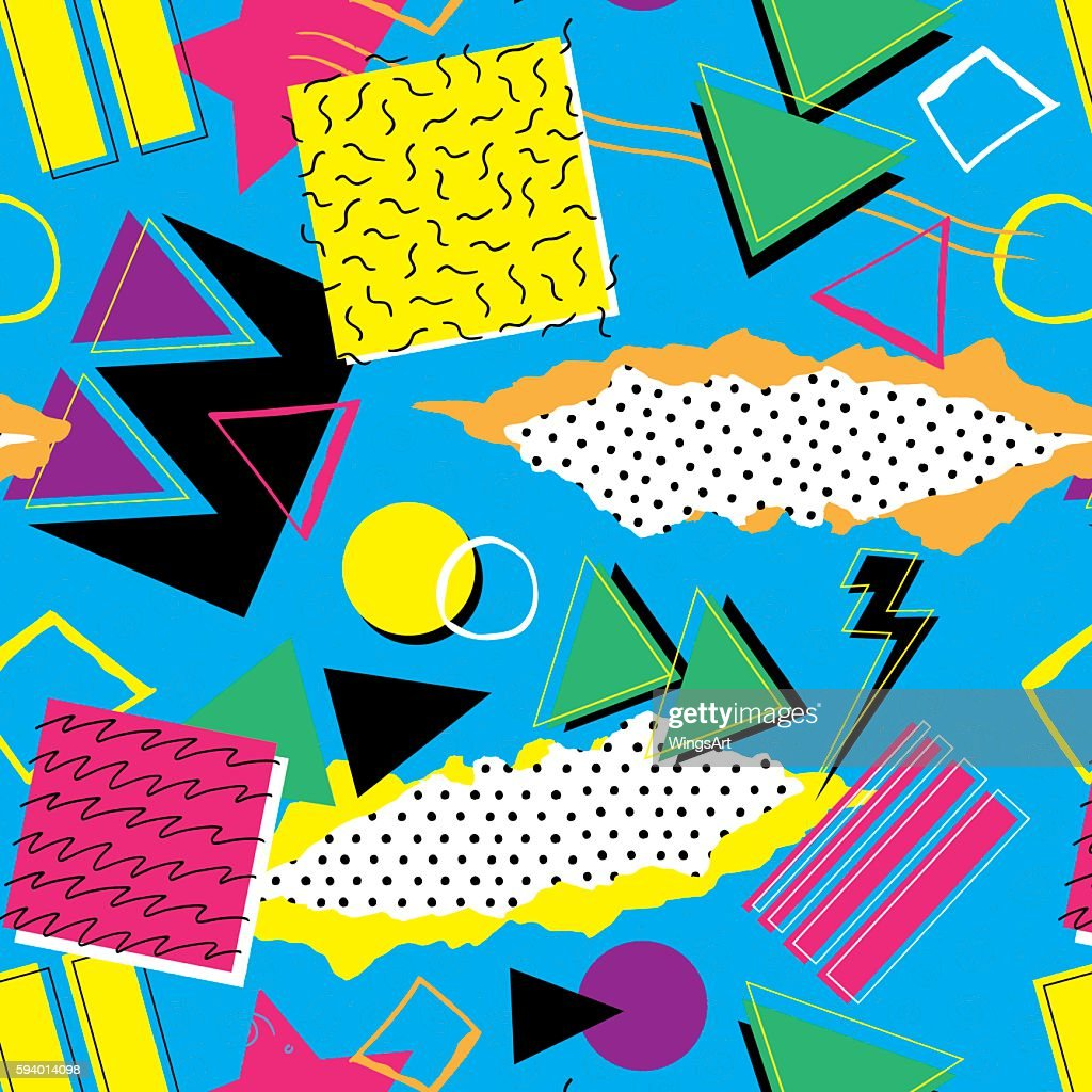 Retro 1980s Pattern
