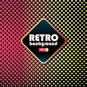Retro 80s background