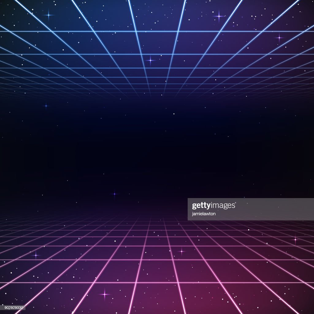 Retro 80s Background stock illustration - Getty Images