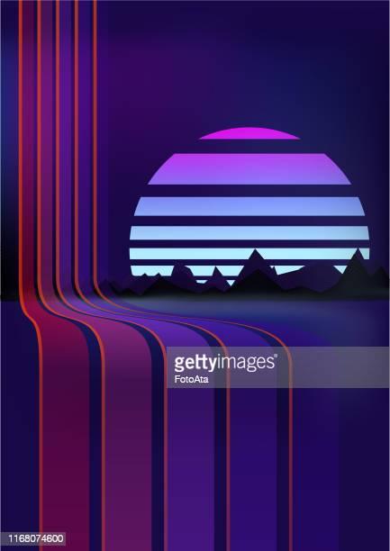 レトロな背景 - 映画のポスター点のイラスト素材/クリップアート素材/マンガ素材/アイコン素材
