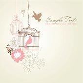 Retro Birdcage Design