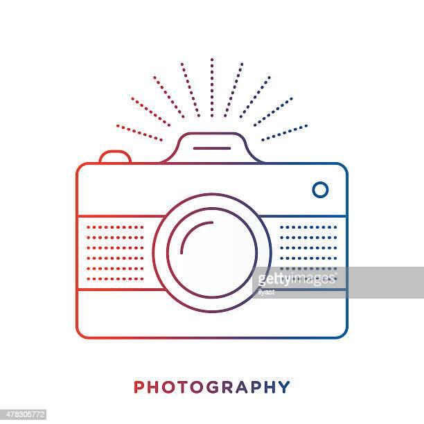 Retro Camera Symbol