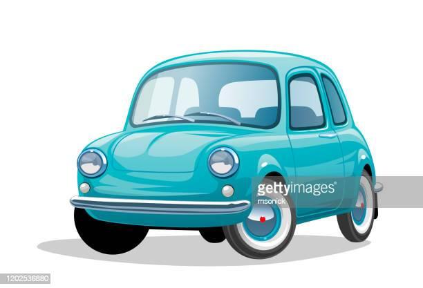retro car - small stock illustrations