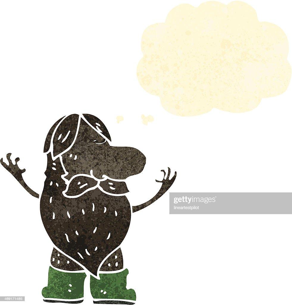 Grafica vettoriale gratuita di nasone ragazza cartone animato