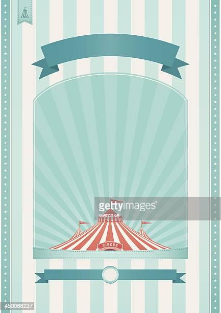 illustrations, cliparts, dessins animés et icônes de rétro fond de cirque - chapiteau de cirque