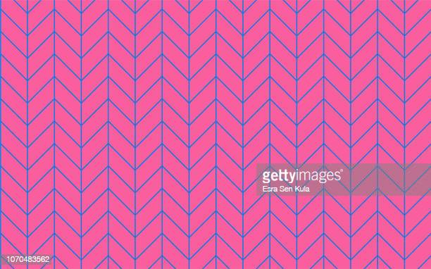 retro coloured seamless line pattern - the slants stock illustrations