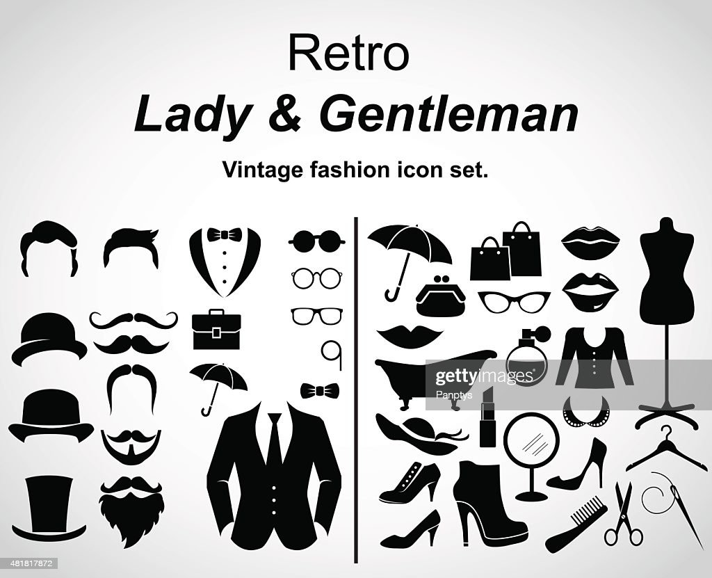 Retro fashion.