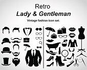 Retro fashion.