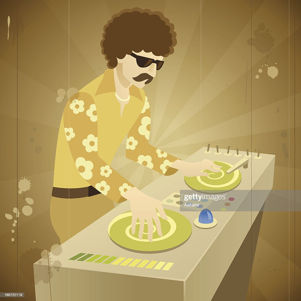 Retro Funky DJ