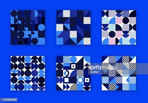 レトロな幾何学的カバーコレクション。抽象シェイプの概念。ベクトル設計 - トピックス点のイラスト素材/クリップアート素材/マンガ素材/アイコン素材