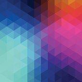 Retro hexagon abstract background