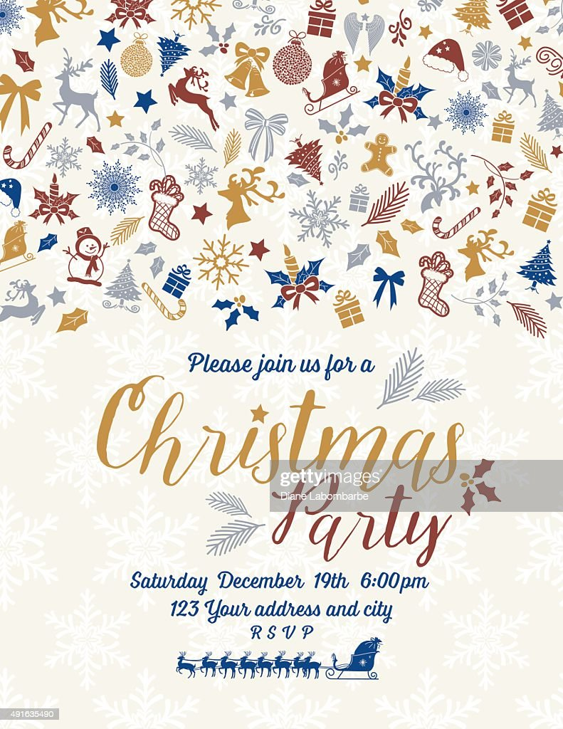 Christmas Invitations Ideas Asafonggecco Christmas Invitations - Hallmark party invitations templates