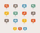 Retro - Internet icons