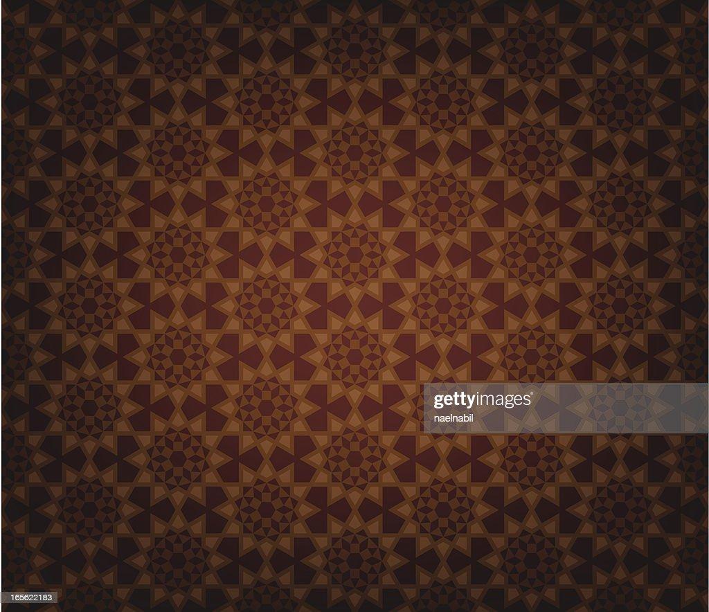 Retro islamic tile