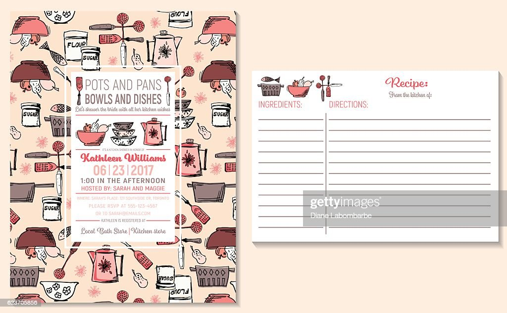 photo relating to Free Printable Recipe Cards for Bridal Shower known as Recipe Playing cards Quality Inventory Examples - Getty Shots