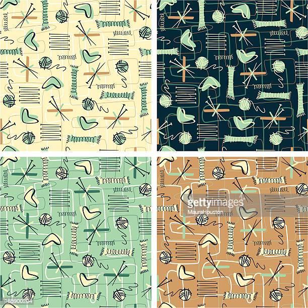 Retro Knitting Patterns