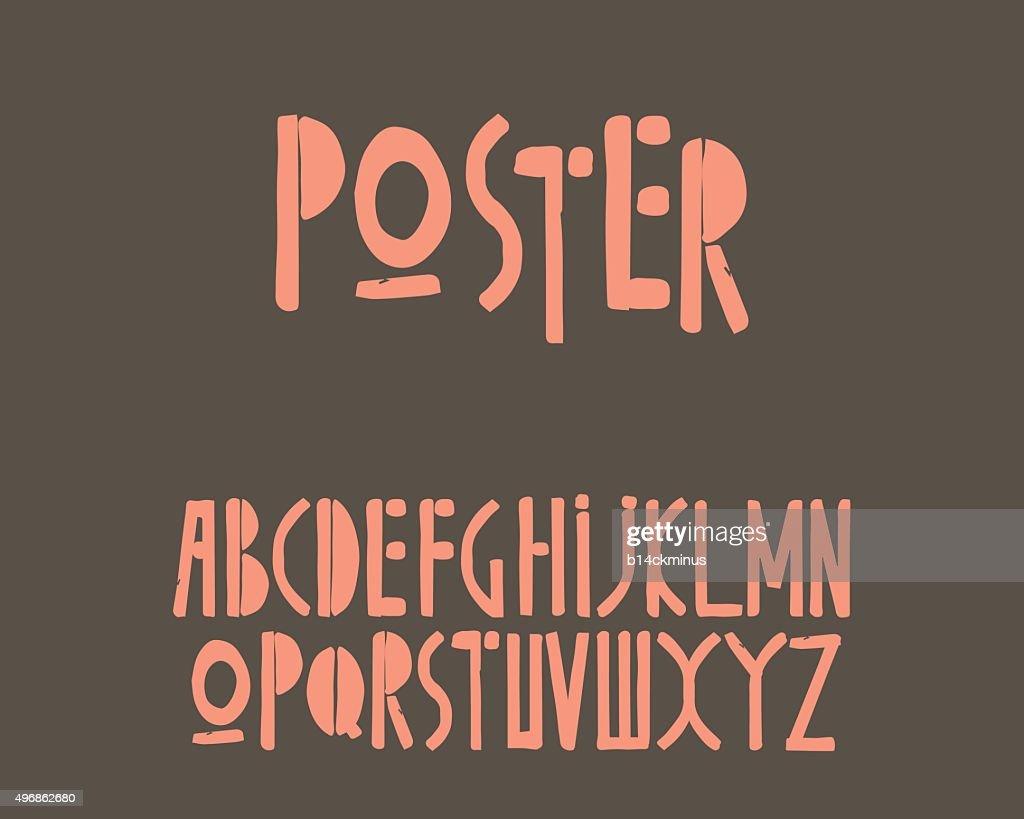 Retro Old Font