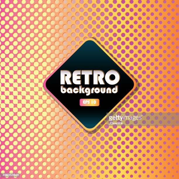 Retro patterns and background design templates bright colorful