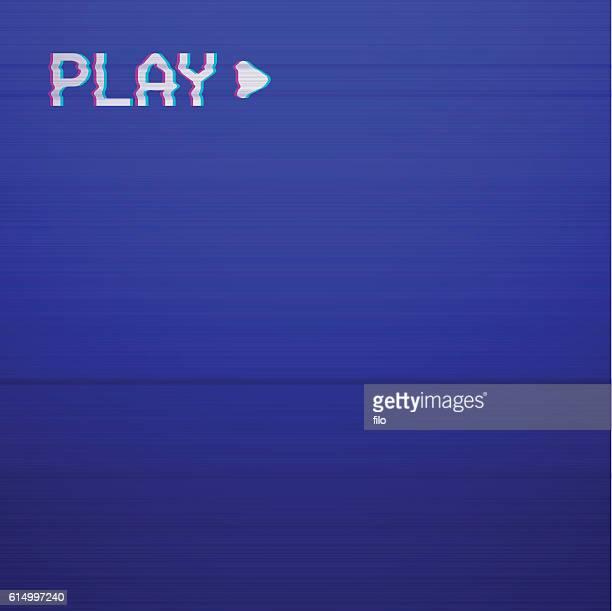 Retro Play TV screen
