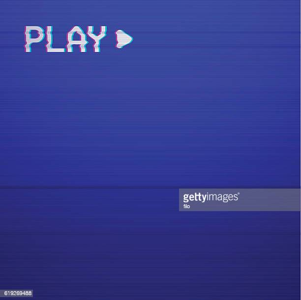 Retro Play TV screen