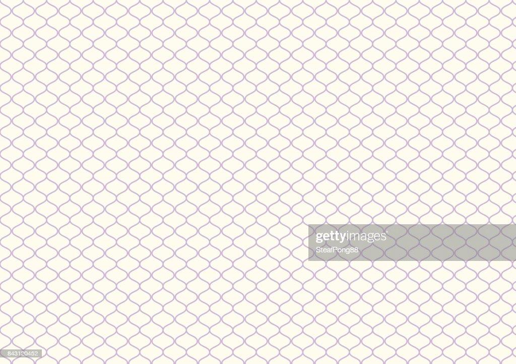 Retro Purple Net Pattern on Pastel Color