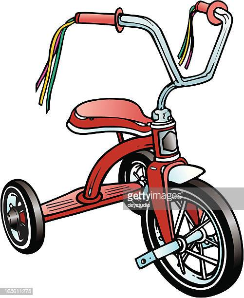 Retro - Red Tricycle