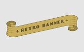 Retro Ribbon Banner
